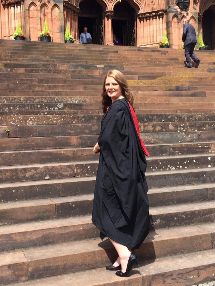 Aspirations and Learning; my graduate journey by Process Engineer, Kirsty Sloan